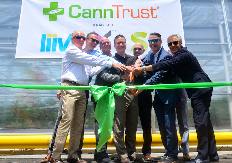 CannTrust Officially Opens New Harvest Facility