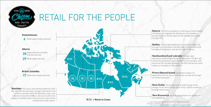 Choom Secures 12 Additional Cannabis Retail Opportunities in Alberta and British Columbia