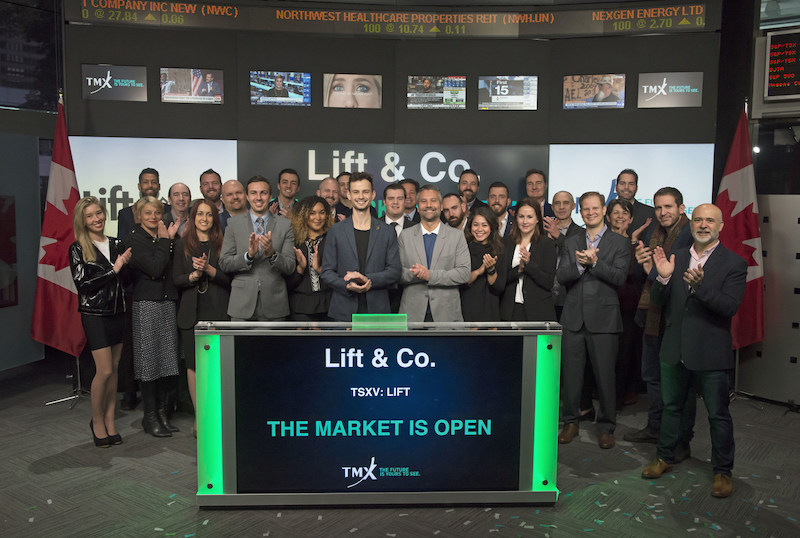 Lift & Co. Corp. Opens the Market