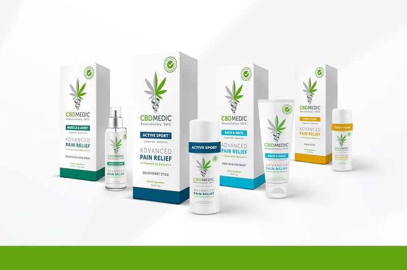 CBDMEDIC Launches Topical Pain Relief Medications