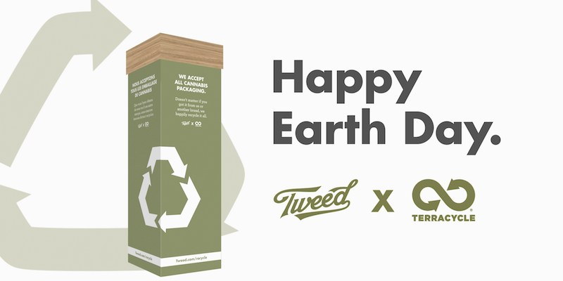 Tweed and TerraCycle team up to take Cannabis Packaging Recycling Program across Canada