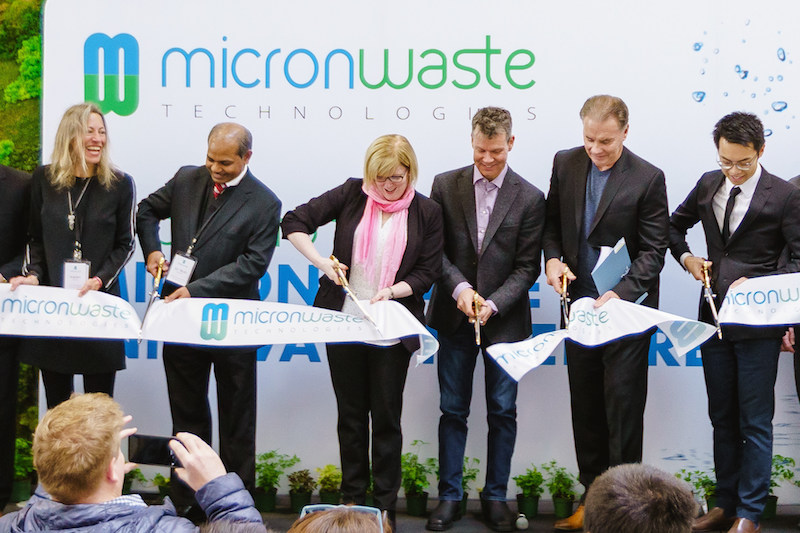 Micron Waste Opens Waste Treatment Innovation Centre
