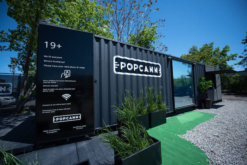 Introducing POPCANN: Tech-driven, Prefabricated Cannabis Stores