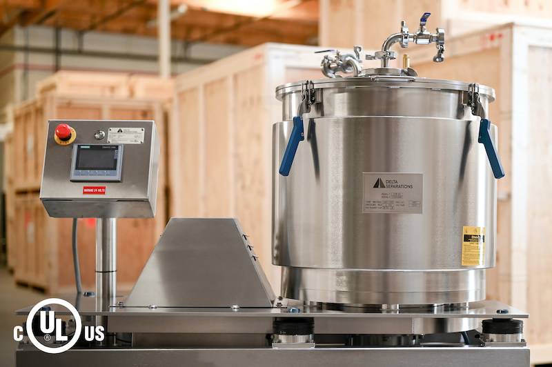 Delta Separations CUP-15 and CUP-30 are the First Cannabis Extraction Systems to be UL Certified to ANSI/CAN/UL/ULC 1389 for use in the U.S. and Canada