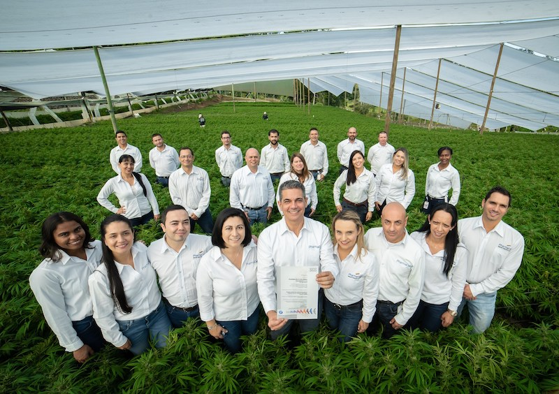 PharmaCielo Becomes First Cultivator Awarded Good Agricultural Practices (GAP) Global Certification for Colombian Medicinal-Cannabis Operations