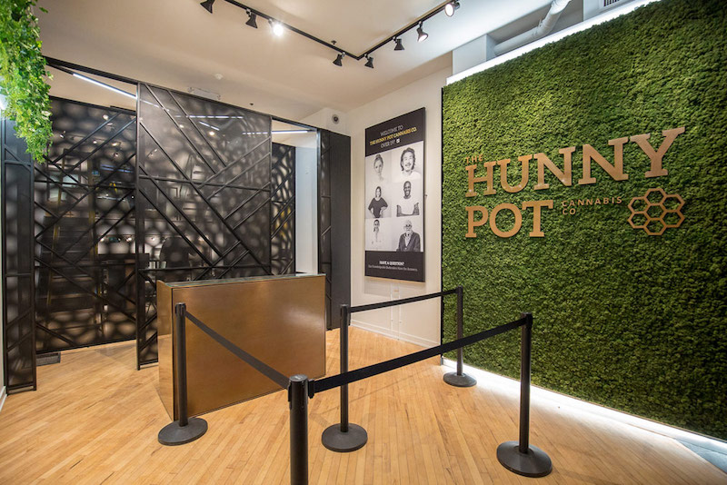The Hunny Pot Cannabis Co. Ranked Top 5 Best Designed Cannabis Stores