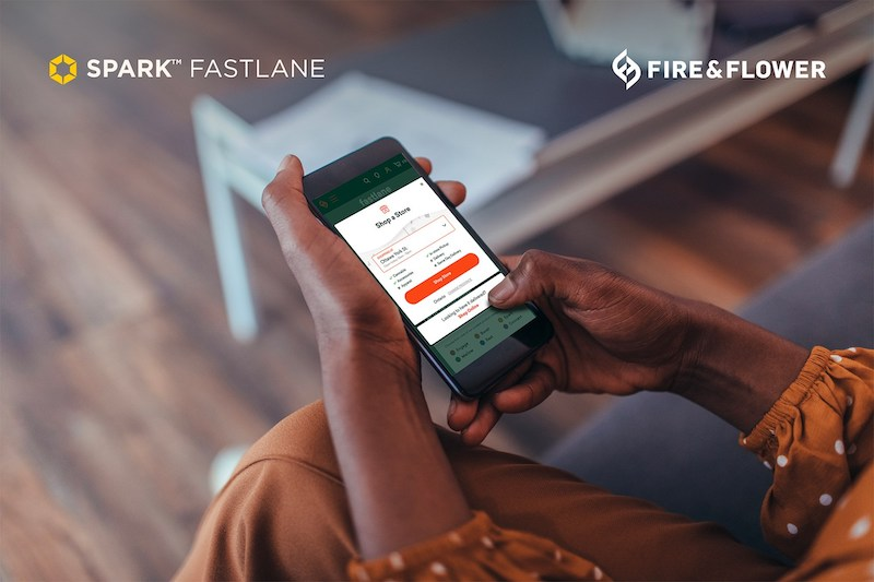 Hifyre Digital Cannabis Platform Announces Successful Launch of Spark Fastlane Service in Fire & Flower Ontario Stores