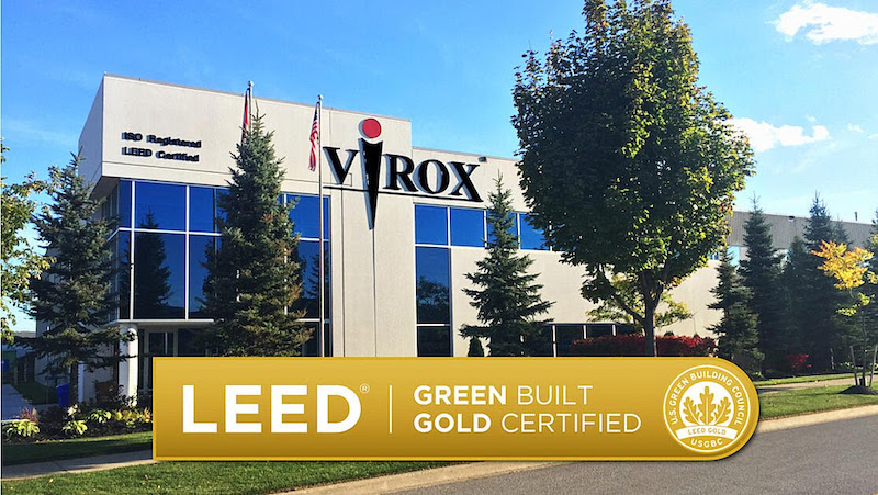 Virox Achieves LEED® Gold Certification