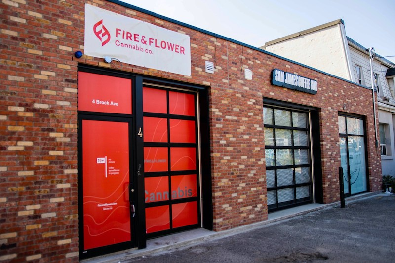 Fire & Flower Announces the Opening of its Toronto - Parkdale Cannabis Retail Store