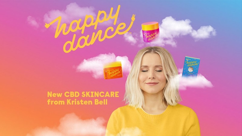Kristen Bell Launches Happy Dance™ CBD Brand with Cronos Group