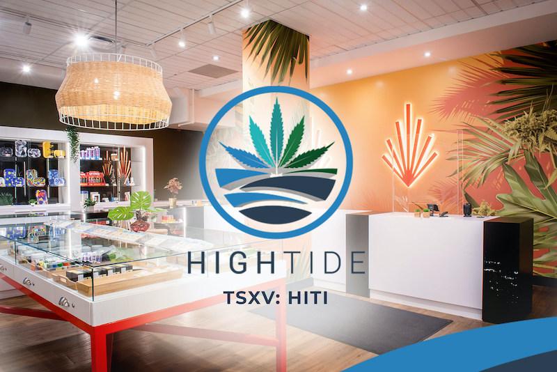High Tide Opens New Canna Cabana Store in Calgary's Montgomery Neighbourhood