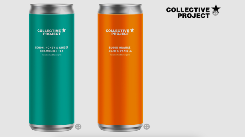 Collective Project Launches Lineup of Cannabis-Infused Craft Beverages