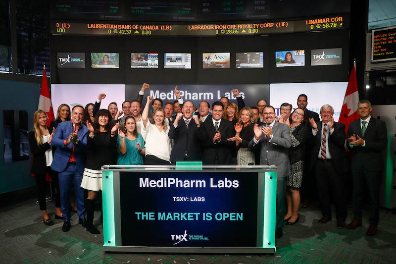 MediPharm Labs Corp. Opens the Market