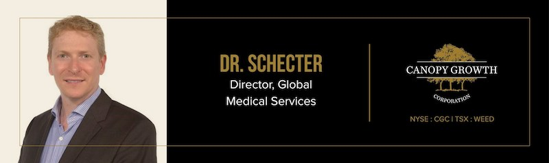 Canopy Growth Appoints Dr. Danial Schecter as Director, Global Medical Services