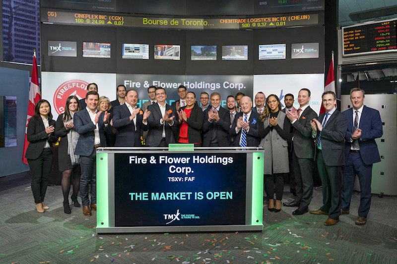 Fire & Flower Holdings Corp. Opens the Market