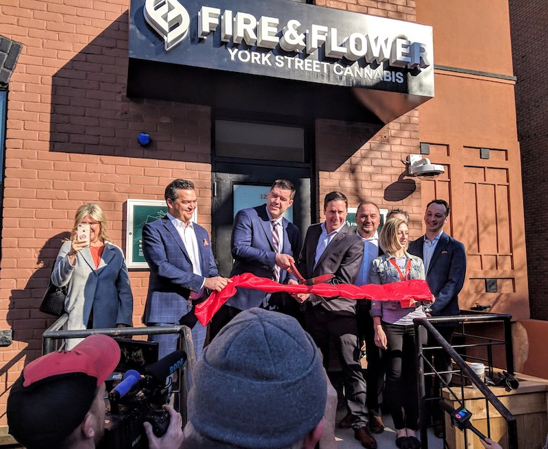 Fire & Flower Exceeds $50,000 Opening Day Sales at Ottawa Branded Cannabis Store
