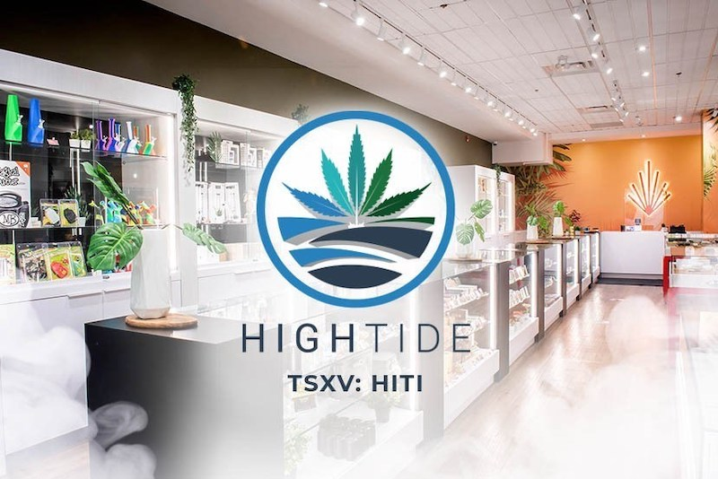 High Tide Opens its 80th Cannabis Retail Store in Burlington, Ontario