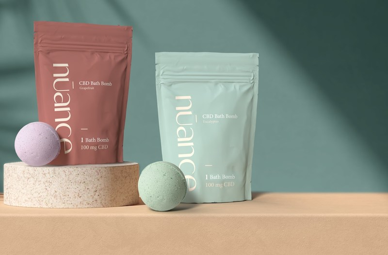 The Valens Company Enters Topicals Category with Launch of nūance CBD Bath Bombs