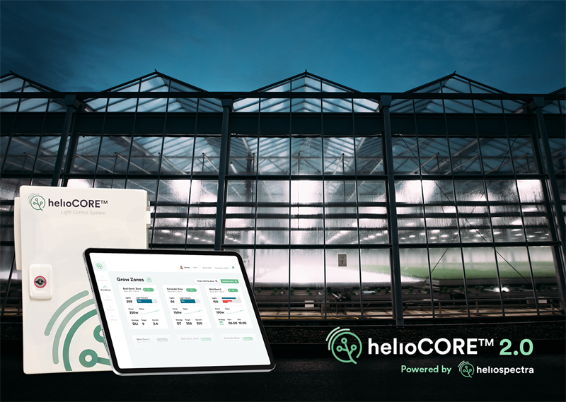 Heliospectra Set to Release Next-Gen Automated Light Control System