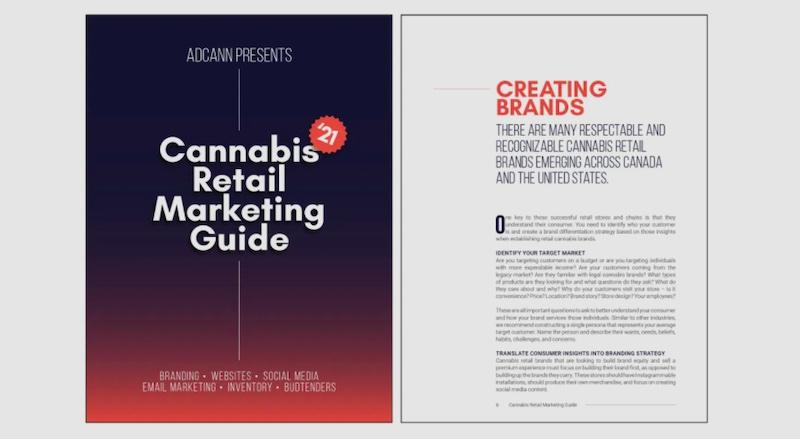ADCANN Launches its 2021 Cannabis Retail Marketing Guide