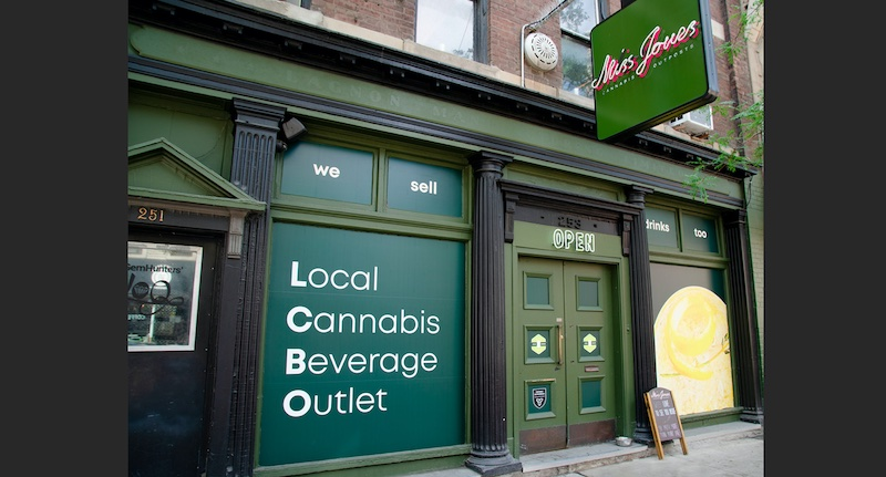 'Local Cannabis Beverage Outlet' Launches to Remind Canadians: Cannabis Retailers Sell Drinks Too