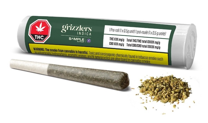 """BC Craft Supply Co Debuts Grizzlers Brand in Alberta Through Revolutionary $1 """"Buck a Joint"""" S^MPLE by AHLOT™ Program"""